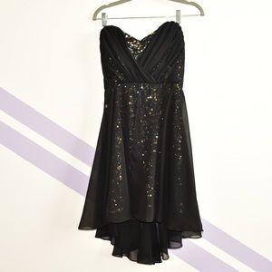 Badgley Mischka Sequin Dress